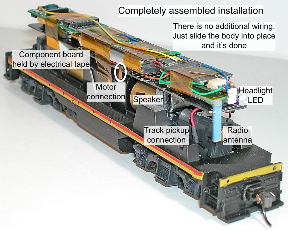 Basic Simple Electrics For Model Railways